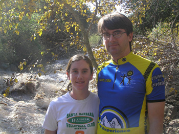Julia and I by Carp Creek