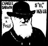 Darwin Has a Posse Sticker